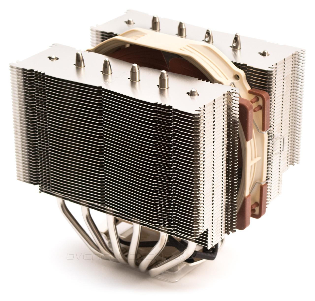 Охлаждение для процессора Noctua NH-D14, б/у