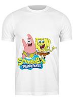 Футболка GeekLand Губка Боб Квадратные Штаны SpongeBob SquarePants РС.01.02