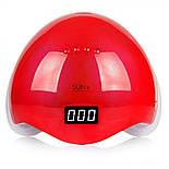 Лампа Led/Uv Sun 5 48 Вт (красная), фото 2