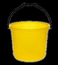 Ведро мерное 12 л желтый