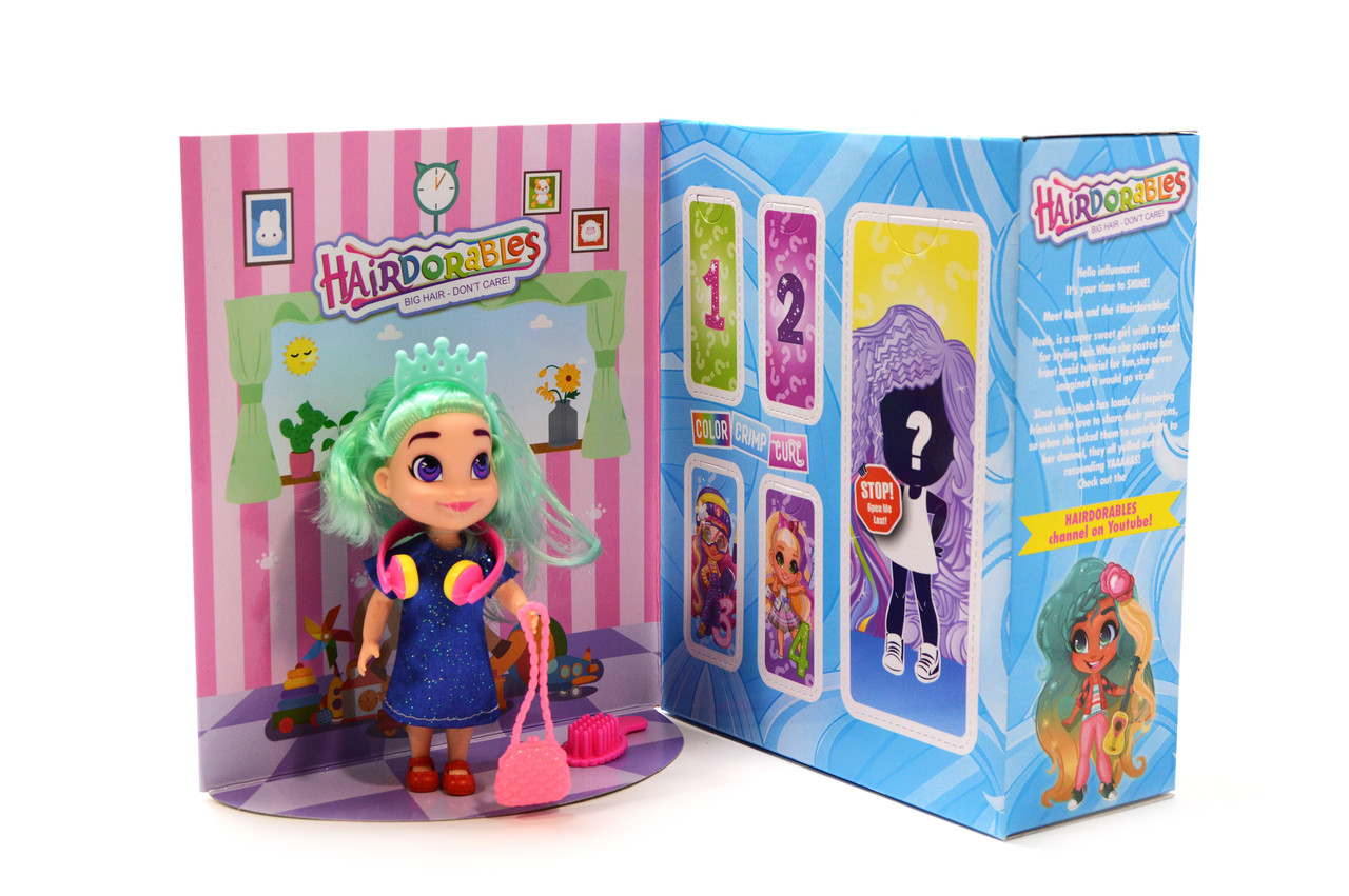 Игровая фигурка куклы Hairdorables 3 series (Хэрдораблс 3 серия)