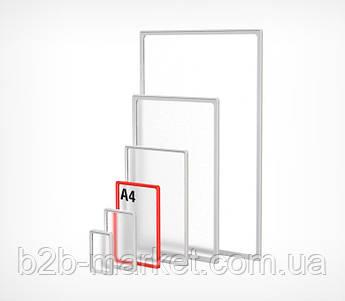 Пластикова рамка А4 формату