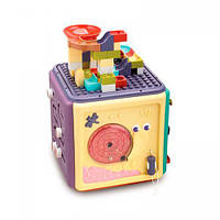 Конструктор столик-куб 01524 з годинником і лабіринтом