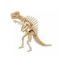 Деревянный 3D конструктор Robotime JP220 Спинозавр детский