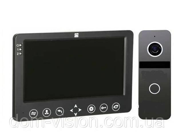 Комплект HD Видеодомофона DOM AHD 7B + панель вызова