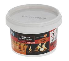 Клей-герметик COLLAFEU +1100°C (300 гр) для каминов, мангалов, духовых шкафов и др.