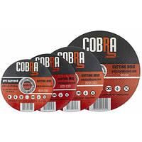 Круг отрезной по металлу 125x1,2 Cobra (абразивный круг)