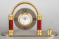 Настольные часы подставка для ручек МИД