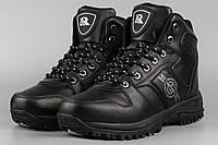 Ботинки мужские Royyna 018C-6 Ройна черные Размеры 41 42 43 45 46, фото 1