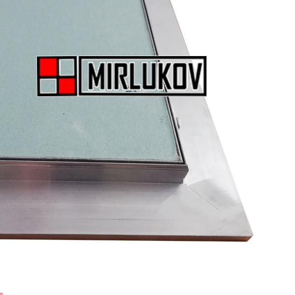 Люк потолочный под обои и покраску 600х600 скрытого монтажа