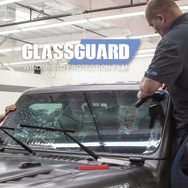 Пленка для защиты лобового стекла GlassGuard