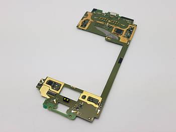 С дефектом. Материнская плата Moto Z2 Force (XT1789-06) с разборки (не работает микрофон, окислы в USB)