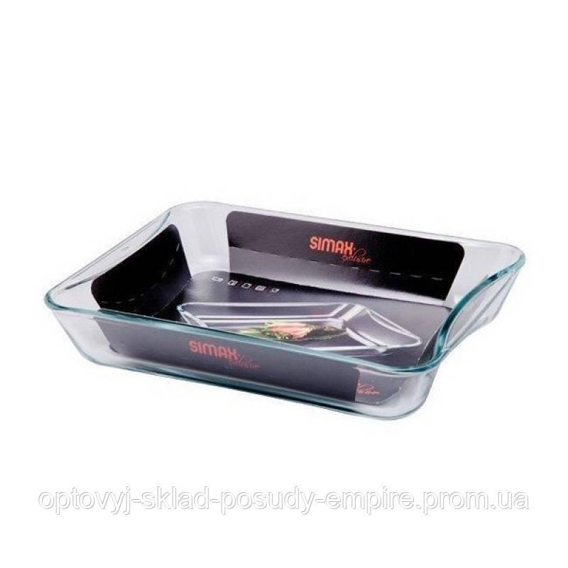 Форма стеклянная жаропрочная для запекания прямоугольная 3,5 л Simax Exclusive