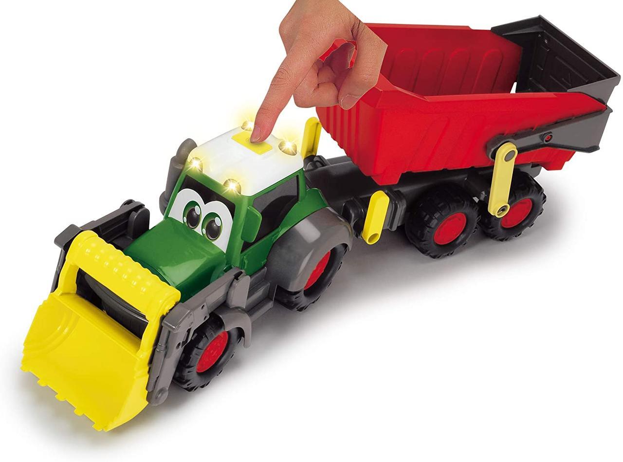Трактор фермерский Хеппи. Фендт со световыми и звуковыми эффектами Dickie Toys 3819002