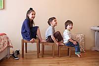 Детские табуретки из массива дерева