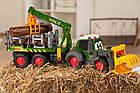 Трактор лесника Хеппи. Фендт со световыми и звуковыми эффектами Dickie Toys 3819003, фото 4