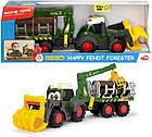 Трактор лесника Хеппи. Фендт со световыми и звуковыми эффектами Dickie Toys 3819003, фото 6