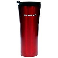 Термокружка Starbucks 500 мл Бордовая 107277R, КОД: 384280