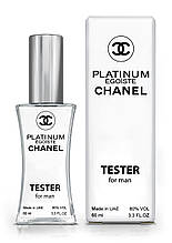 Прафюм мужской реплика Chanel Egoiste Platinum 60ml аналог