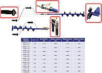 Ледобур для зимней рыбалки NERO 130 мм
