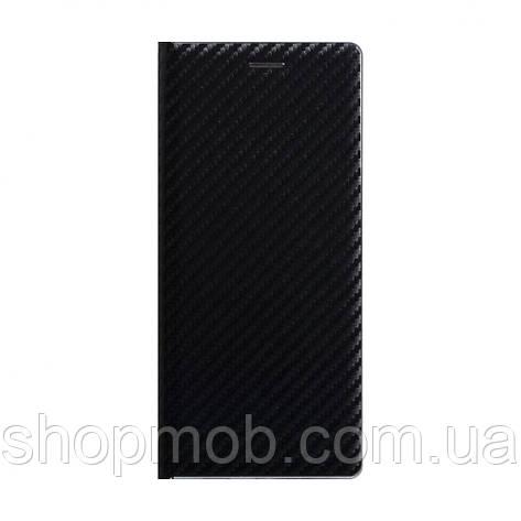 Чехол-книжка Carbon for Huawei Y5P Eur Ver Цвет Чёрный, фото 2