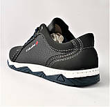 Кроссовки Colamb!a Мужские Чёрные Кожаные Мокасины (размеры: 40,41,42,43,44,45) Видео Обзор, фото 6