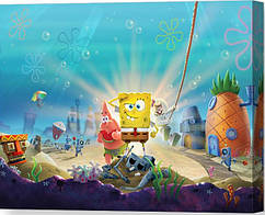 КартинаGeekLandГубка Боб Квадратные Штаны SpongeBob SquarePants Battle for Bikini Bottom 60х40 РС 09.01