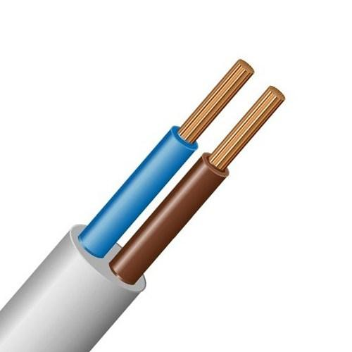 Силовий кабель ШВВП 2х0.50 CU 100м