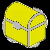 Фон объемный внутренний, структурный 60х50см, №1, (Упаковка 2 шт.)