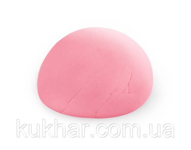 Мастика Цукрова кондитерська маса Рожева 1кг