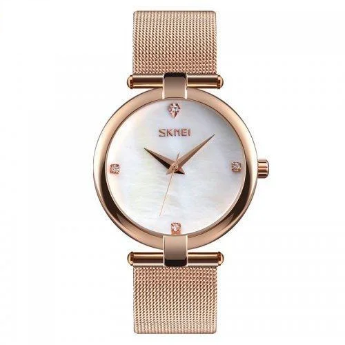 Мегастильные женские часы Skmei 9177 Marble!