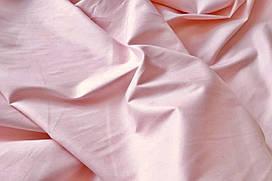 Сатин-твил Нежно-розовый (тёплый)