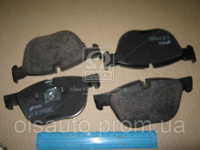 Колодка торм. диск. BMW X5, X6 передн. (пр-во REMSA)