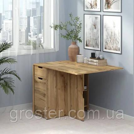 Стол-книжка-4. Раскладной стол. Стол-тумба