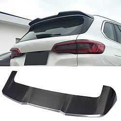 Карбоновый спойлер BMW X5 G05 тюнинг (верхний)