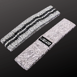 Стрічка опору набір LOOP BANDS, поліестер, латекс, р-н 66-87х8см, жорсткість S-L (FI-7200), фото 5