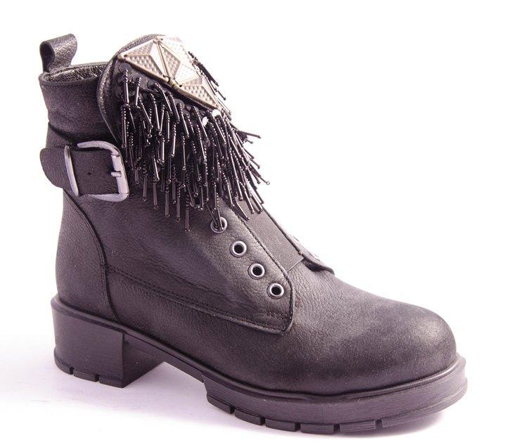 Ботинки женские черные Luciano Bellini R120-5304