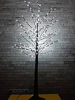 Светодиодное дерево, дерево ночник, высота 1,5м, белое свечение