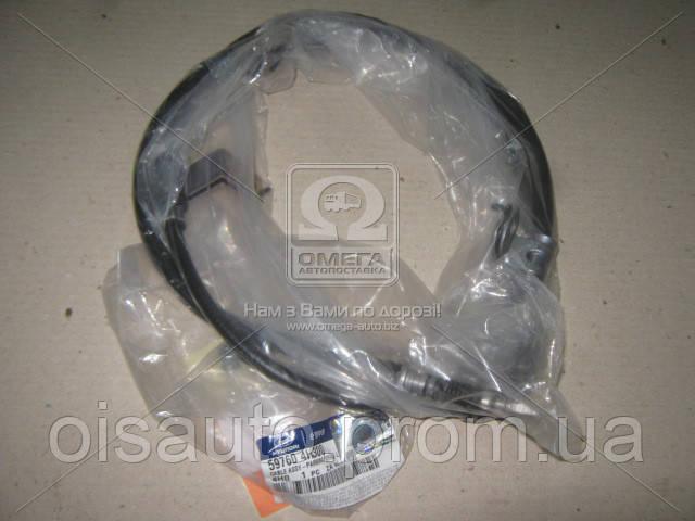 Трос ручного тормоза левый (диск) Hyundai H-1 07- (пр-во Mobis)
