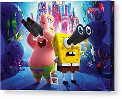 КартинаGeekLandГубка Боб Квадратные Штаны SpongeBob SquarePants Губка в бегах60х40 РС 09.02