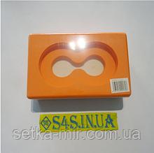 Блок для йоги (кирпич для йоги) с отверстием FI-5163 Оранжевый