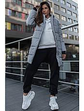 Женская зимняя куртка Staff long gray XS, фото 2