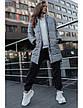 Женская зимняя куртка Staff long gray XS, фото 4