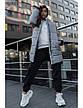 Женская зимняя куртка Staff long gray XS, фото 5