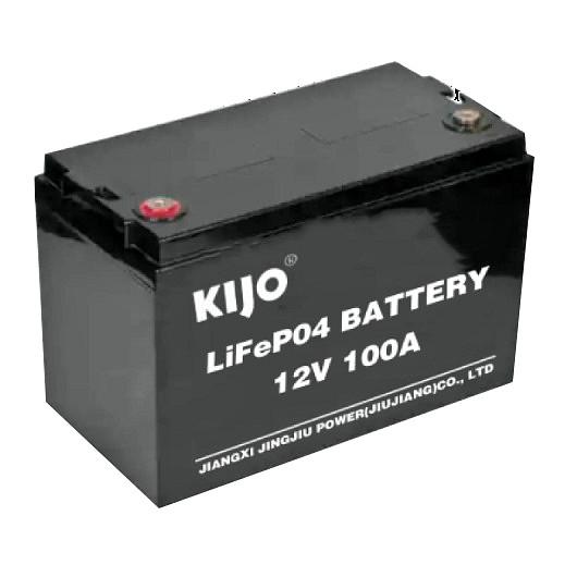 Литиевый аккумулятор 100 Ач 12В KIJO 12-100 LiFePo4 литий полимерная батарея R