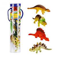"""Игровой набор фигурок """"Динозавры"""", мягкие игрушки,животные резиновые,игрушка мир животных,игрушки животных"""