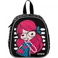 "Рюкзак ""Kite Kids. Pretty girl"", Kite, рюкзак,сумки,городской рюкзак,рюкзаки школьные"