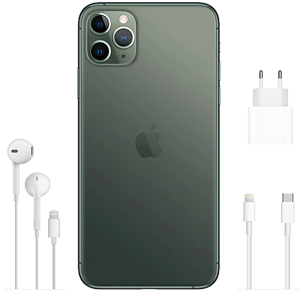 Смартфон Apple iPhone 11 Pro Dual Sim 256Gb Midnight Green, фото 2
