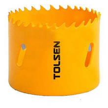Коронка Tolsen биметаллическая 92 мм (75792)