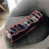 Прозрачный органайзер для трусиков и носков 10 ячеек XS (розовый), фото 2